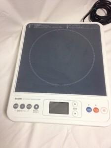 卓上IH調理器 IC-D10B(w)買取しました。