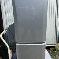 三菱ノンフロン冷凍冷蔵庫MR-P15T-S